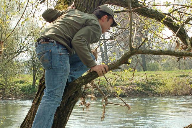 Wer die Augen am Wasser offen hält und die Fische sucht, fängt einfach mehr.